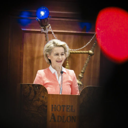 Speech by German Federal Minister of Defense von der Leyen