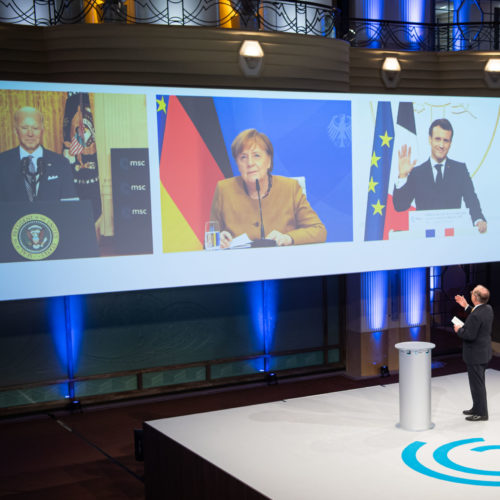 """""""Europa muss die USA auch entlasten"""""""