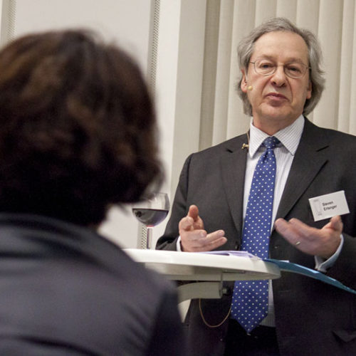 """Are We Losing One Another?"" Vortrag und Diskussion mit Steven Erlanger"